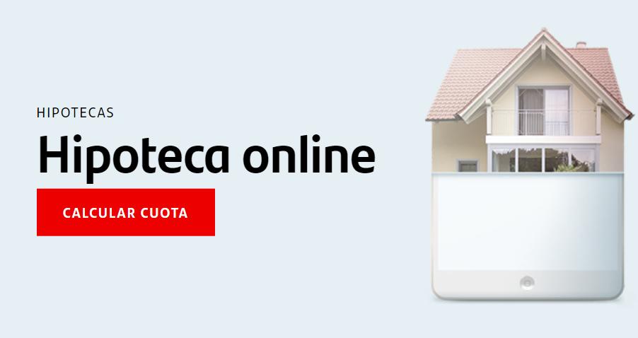 hipoteca online del santander
